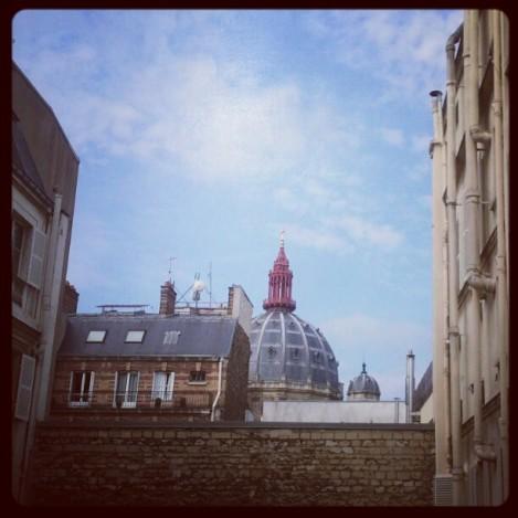 Paris vu d'un appartement