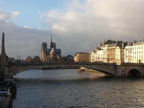 Paris un dimanche après-midi