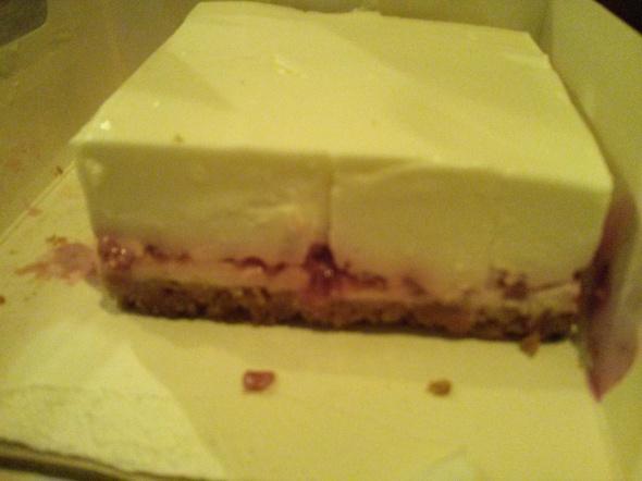 Cheesecake à la framboise et aux petits beurres