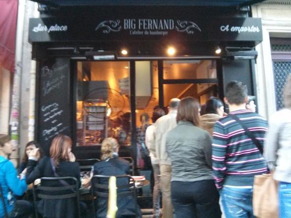 La devanture du Big Fernand