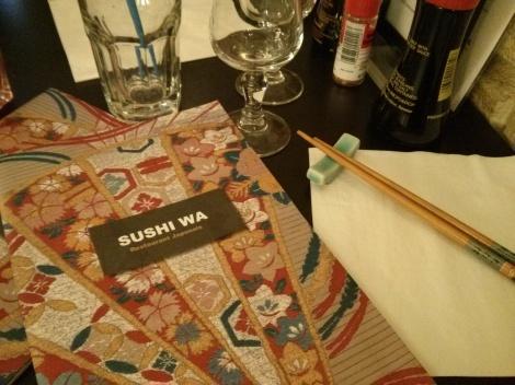 Carte Sushi Wa