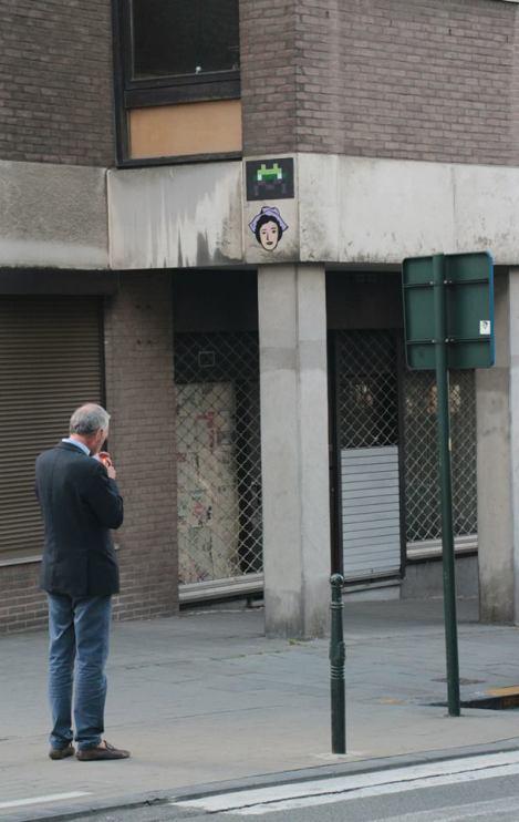 Street-photographie / Street-art