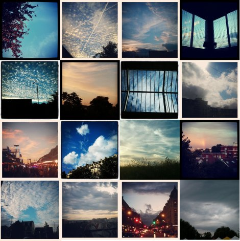 Collection de ciel