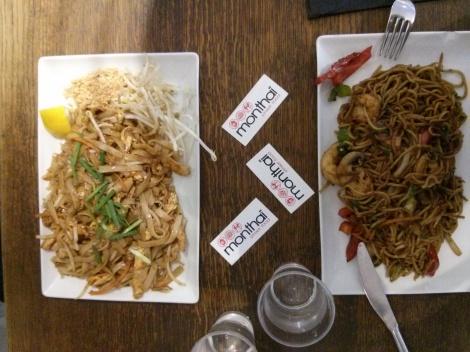 Monthaï - Les deux sortes de nouilles