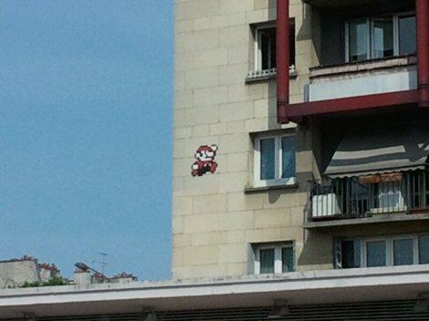 Invader - Mario